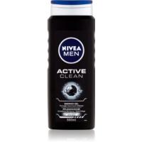 Nivea Men Active Clean sprchový gél na tvár, telo a vlasy pre mužov