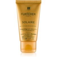 René Furterer Solaire vyživujúci šampón pre vlasy namáhané chlórom, slnkom a slanou vodou