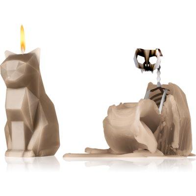 54 Celsius PyroPet KISA (Cat) decorative candle grey