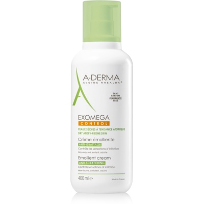A-Derma Exomega Softening Body Cream For Very Dry Sensitive And Atopic Skin