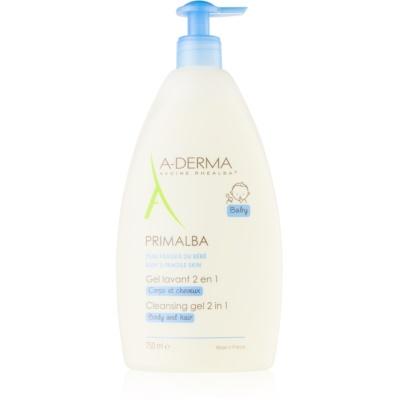 A-Derma Primalba Baby gel za pranje tijela i kose za djecu