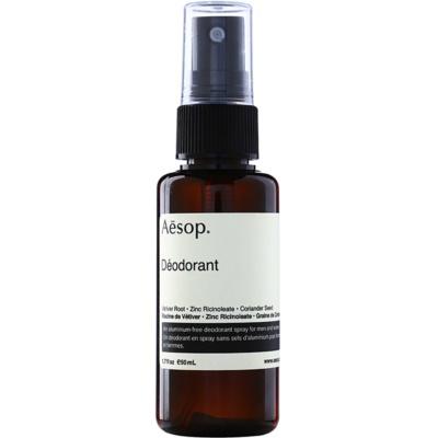 Aēsop Body Deodorant Spray fara continut de aluminiu