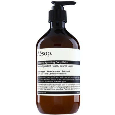 AēsopBody Resolute Hydrating