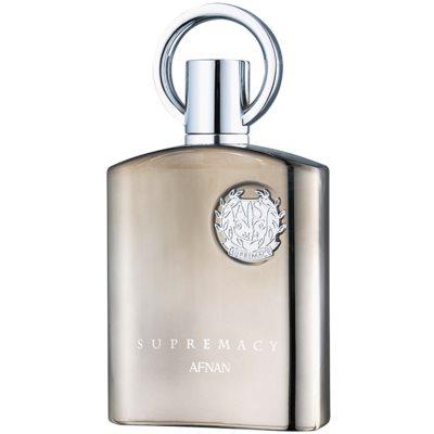 Afnan Supremacy Silver eau de parfum per uomo