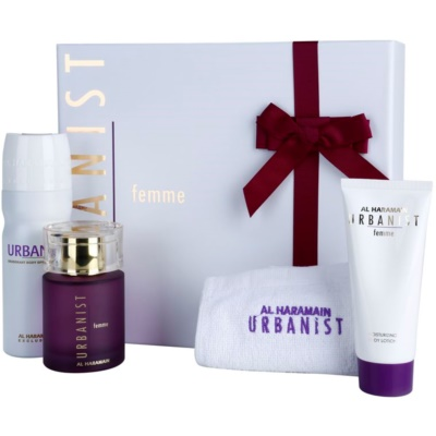 Al Haramain Urbanist Femme подарунковий набір I. для жінок