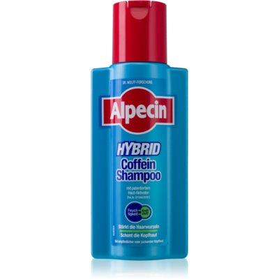 Alpecin Hybrid kofeinový šampon pro citlivou pokožku hlavy