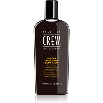 American Crew Hair & Body 24-Hour Deodorant Body Wash Deodorising Shower Gel 24 h