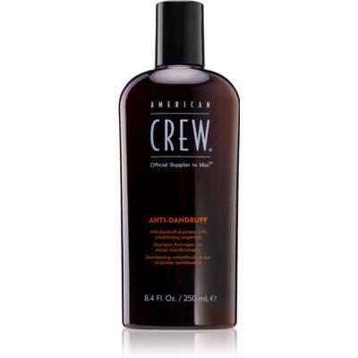 American Crew Hair & Body Anti-Dandruff шампунь проти лупи для регуляції секреції шкірних залоз