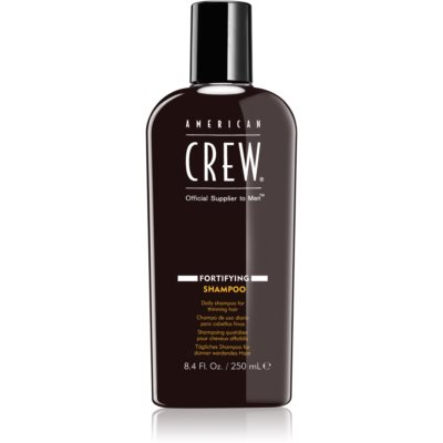 American Crew Fortifying αποκαταστατικό σαμπουάν για πυκνότητα μαλλιών