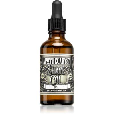 Apothecary 87 1893 olje za britje in brado