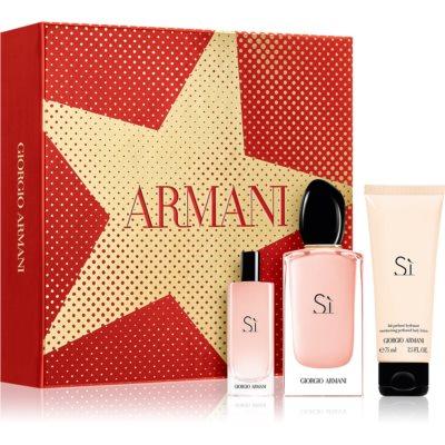 Armani Sì  Fiori poklon set X. za žene