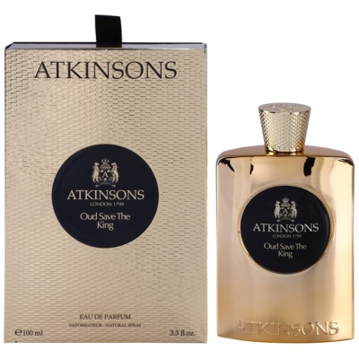 Atkinsons Oud Save The King eau de parfum για άντρες