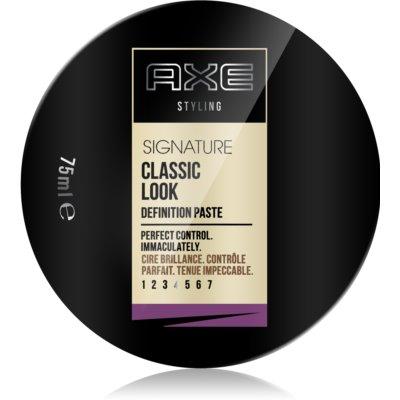 Axe Signature Classic Look stylingová pasta na vlasy
