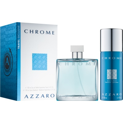 Azzaro Chrome Gift Set IX. for Men