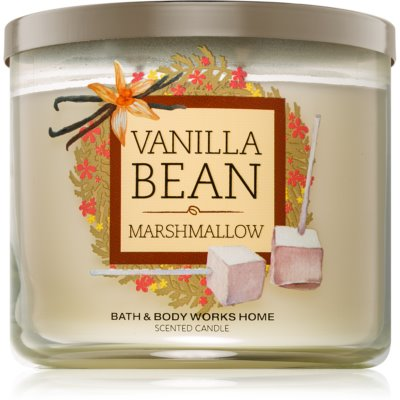 Bath & Body Works Vanilla Bean Marshmallow ароматна свещ