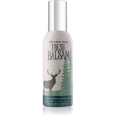 Bath & Body Works Fresh Balsam spray lakásba