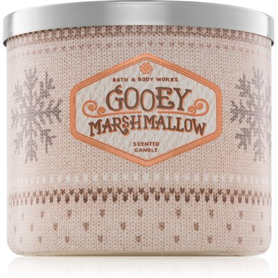 Bath & Body Works Gooey Marshmallow scented candle