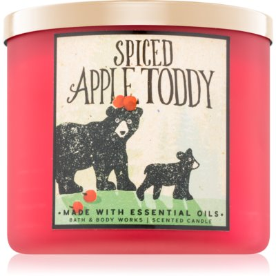 Bath & Body Works Spiced Apple Toddy illatos gyertya  I.