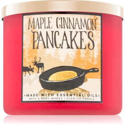 Bath & Body Works Maple Cinnamon Pancakes bougie parfumée