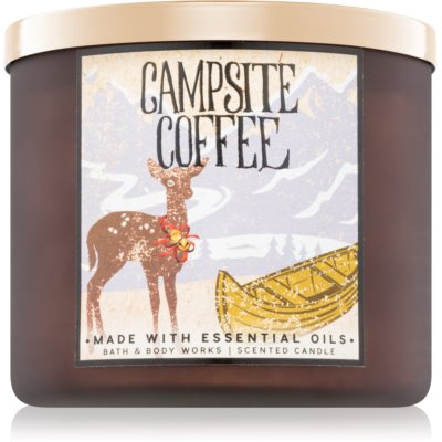 Bath & Body Works Campsite Coffee scented candle