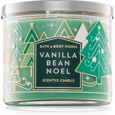 Bath & Body Works Vanilla Bean Noel scented candle