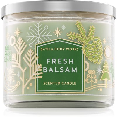 Bath & Body Works Fresh Balsam scented candle III