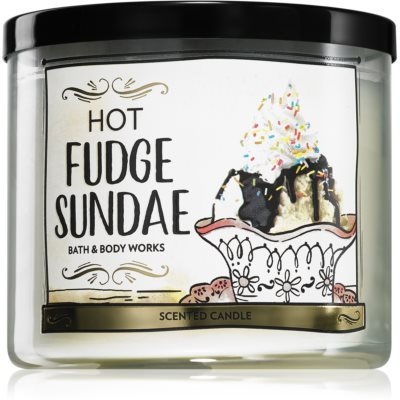 Bath & Body Works Hot Fudge Sundae scented candle