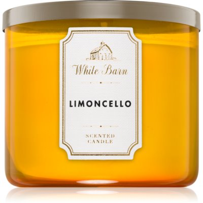 Bath & Body Works Limoncello scented candle I.