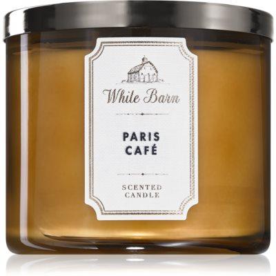 Bath & Body Works Paris Café ароматическая свеча III.