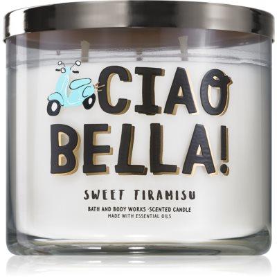Bath & Body Works Sweet Tiramisu ароматна свещ