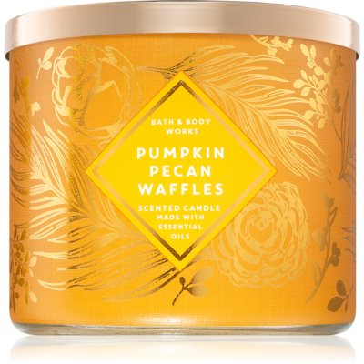 Bath & Body Works Pumpkin Pecan Waffles bougie parfumée III.