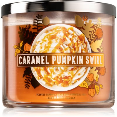 Bath & Body Works Caramel Pumpkin Swirl ароматна свещ