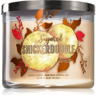 Bath & Body Works Sugared Snickerdoodle vela perfumada