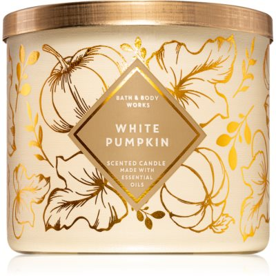 Bath & Body Works White Pumpkin vela perfumada