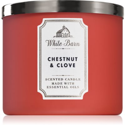 Bath & Body Works Chestnut & Clove scented candle