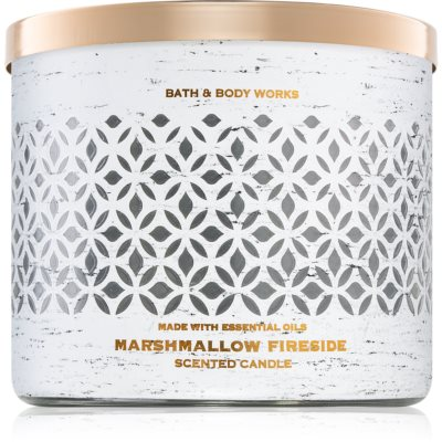 Bath & Body Works Marshmallow Fireside scented candle I.