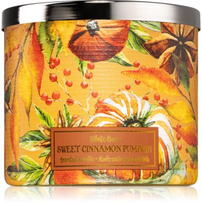 Bath & Body Works Sweet Cinnamon Pumpkin vela perfumada