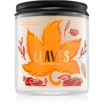 Bath & Body Works Leaves scented candle III