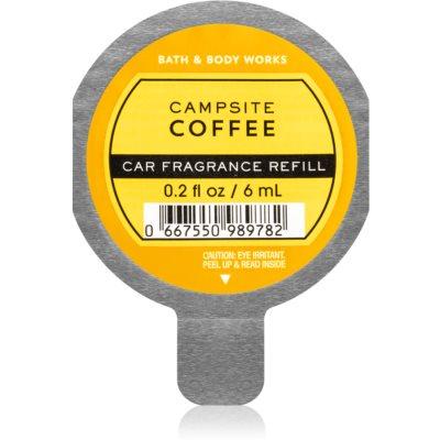 Bath & Body Works Campsite Coffee άρωμα για αυτοκίνητο ανταλλακτική γέμιση