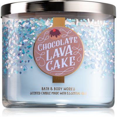 Bath & Body Works Chocolate Lava Cake vela perfumada