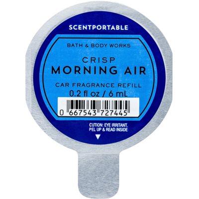Bath & Body Works Crisp Morning Air ambientador de coche para ventilación recarga de recambio