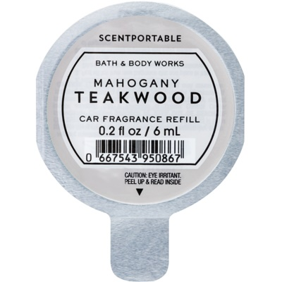 Bath & Body Works Mahogany Teakwood désodorisant voiture recharge