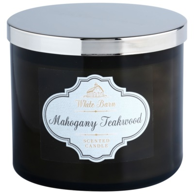 Bath & Body Works White Barn Mahogany Teakwood duftkerze