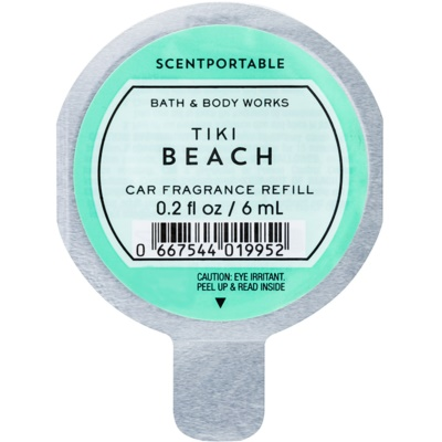 Bath & Body Works Tiki Beach car air freshener Refill