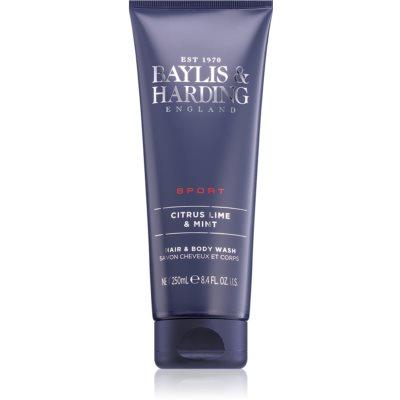 Baylis & Harding Men's Citrus Lime & Mint гель для душу та шампунь 2 в 1