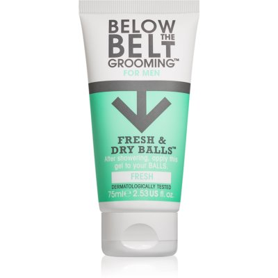 Below the Belt Grooming Fresh Intimate Hygiene Gel for Men