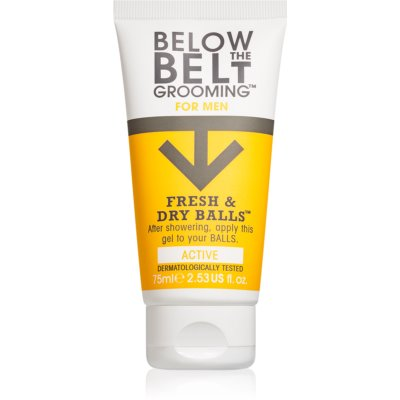 Below the Belt Grooming Active gel íntimo para homens