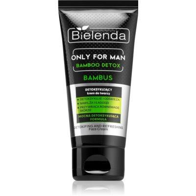 Bielenda Only for Men Bamboo Detox crème détoxifiante pour homme