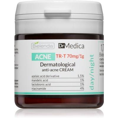 Bielenda Dr Medica Acne crema viso per pelli grasse con tendenza all'acne