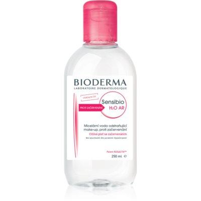 Bioderma Sensibio H2O AR Mizellenwasser  für empfindliche Haut mit der Neigung zum Erröten